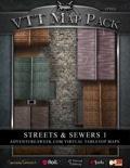 VTT Map Pack: Streets & Sewers 1 (Download)