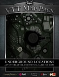 VTT Map Pack: Underground Locations (Download)