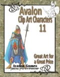 Avalon Clip Art Characters #11: Elf 1 PDF