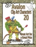 Avalon Clip Art Characters #20: Goblins 2 PDF