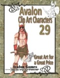 Avalon Clip Art Characters #29: Barbarian 2 PDF