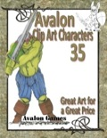 Avalon Clip Art Characters #35: Orc 1 PDF