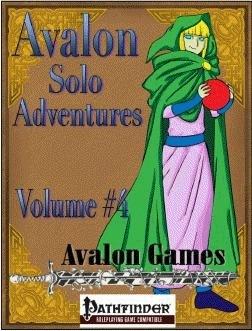 Avalon Solo Adventures, Volume #4: Mage (PFRPG) PDF