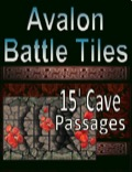 Avalon Battle Tiles, 15' Cave Passages PDF