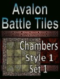 Avalon Battle Tiles—Dungeon Chambers: Set 1, Style 1 PDF