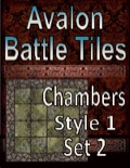 Avalon Battle Tiles, Dungeon Chambers, Set 2 Style 1 PDF