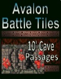 Avalon Battle Tiles, 10' Cave Passage PDF