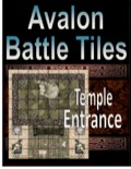 Avalon Battle Tiles, Temple Entrance PDF