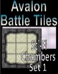 Avalon Battle Tiles—Sci-Fi Chambers: Set 1, Style 1 PDF