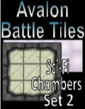 Avalon Battle Tiles, Sci-Fi Chambers, Set 1 Style 1 PDF