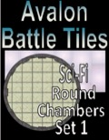 Avalon Battle Tiles—Sci-Fi Round Chambers: Set, 1 Style 1 PDF