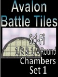 Avalon Battle Tiles, Sci-Fi ½ & ¼ Round Chambers, Set 1 Style 1 PDF