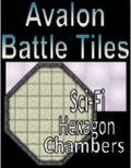 Avalon Battle Tiles, Sci-Fi Hexagon Chamber PDF