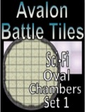 Avalon Battle Tiles: Sci-Fi Oval Chamber Set 1 PDF