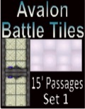 Avalon Battle Tiles, Sci-Fi 15' Passages, Set 1 Style 1 PDF