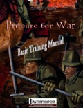 Prepare for War: Basic Training Manual (PFRPG) PDF