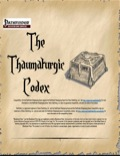 The Thaumaturgic Codex (PFRPG) PDF
