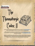 The Thaumaturgic Codex II (PFRPG) PDF