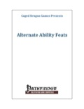 Alternate Ability Feats (PFRPG) PDF