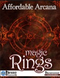 Affordable Arcana: Magic Rings (PFRPG) PDF