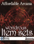 Affordable Arcana: Wondrous Item Sets (PFRPG) PDF
