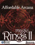 Affordable Arcana: Magic Rings II (PFRPG) PDF