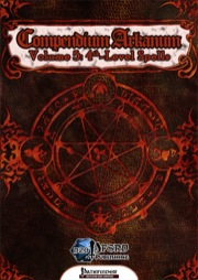 Compendium Arcanum, Volume 5: 4th-Level Spells (PFRPG) PDF