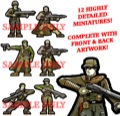 Atomic Highway Sentinels 28mm Paper Miniatures PDF