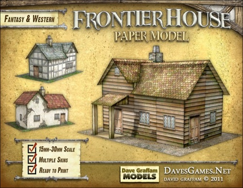 paizo com - Frontier House Paper Model PDF