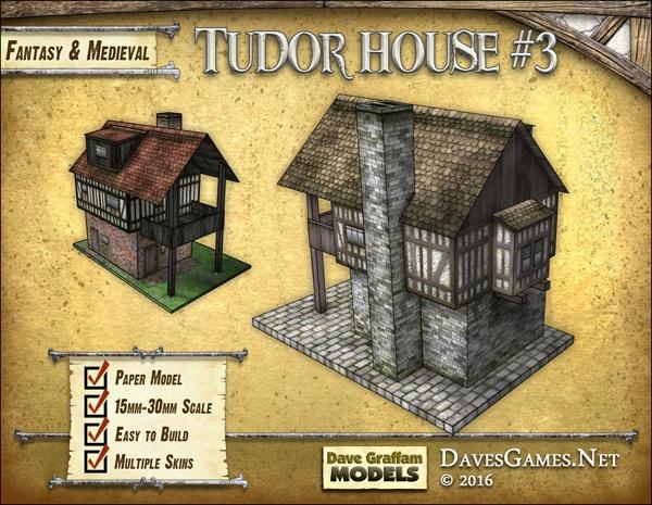 paizo com - Tudor House #3 Paper Model PDF