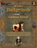 5th Edition Backgrounds: Criminal Intent (5E) PDF