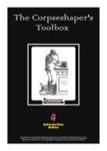 The Corpseshaper's Toolbox (PFRPG) PDF
