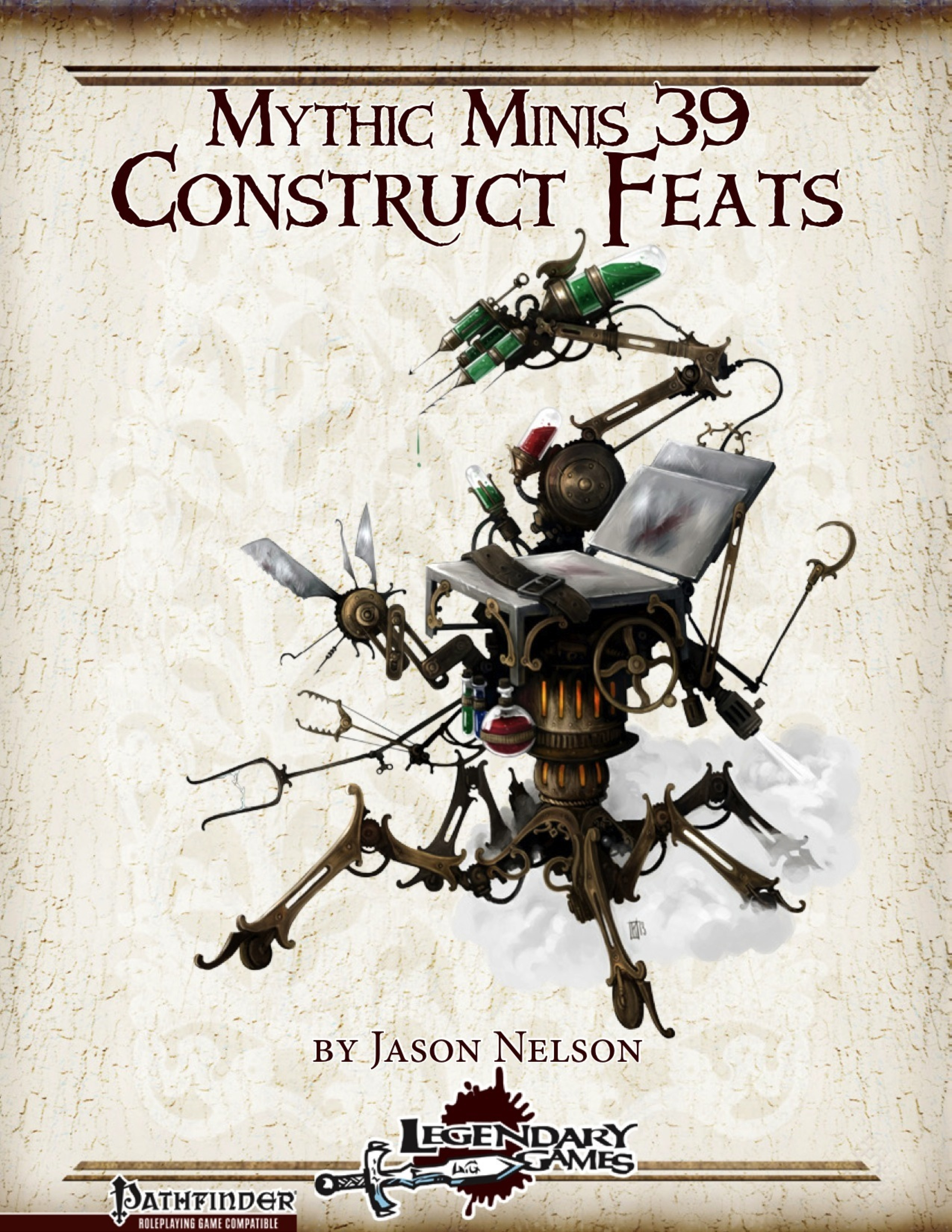 Mythic Minis 39: Construct Feats (PFRPG) PDF