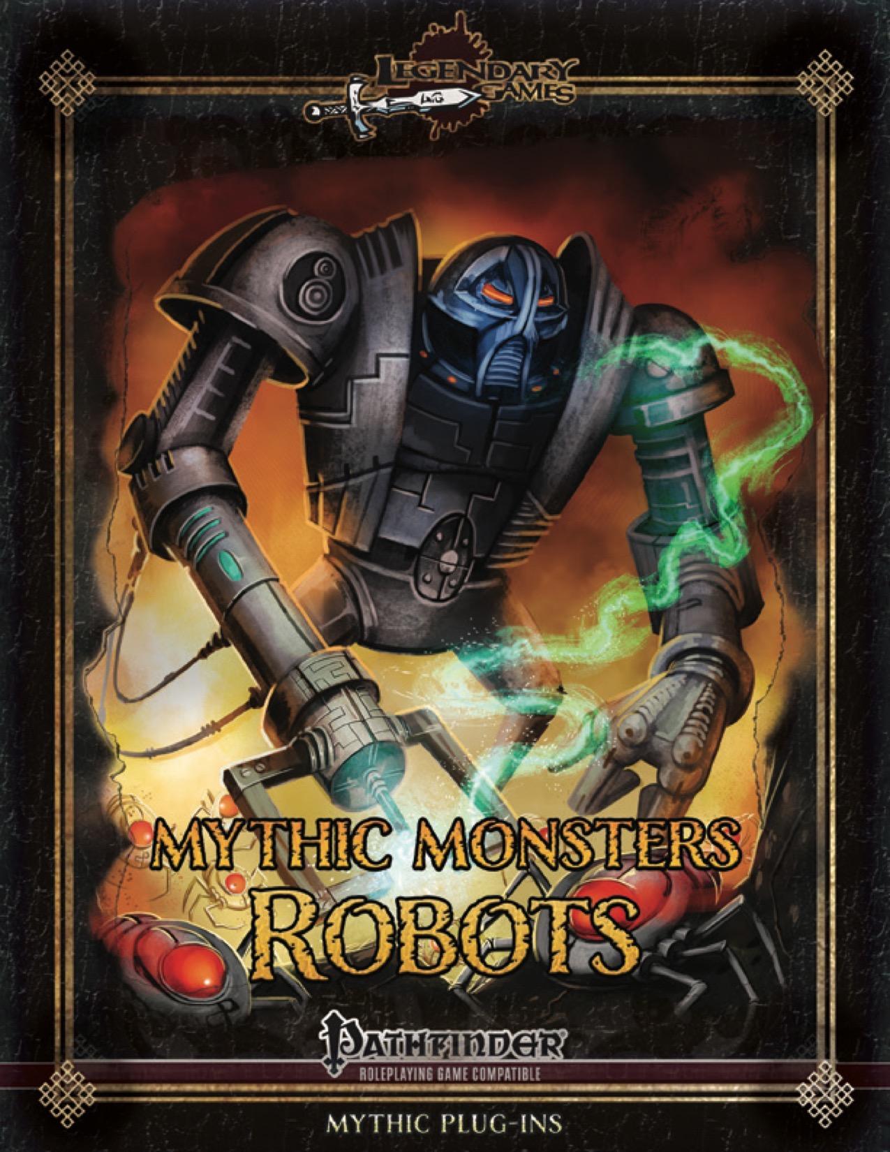 Mythic Monsters 37: Robots (PFRPG) PDF