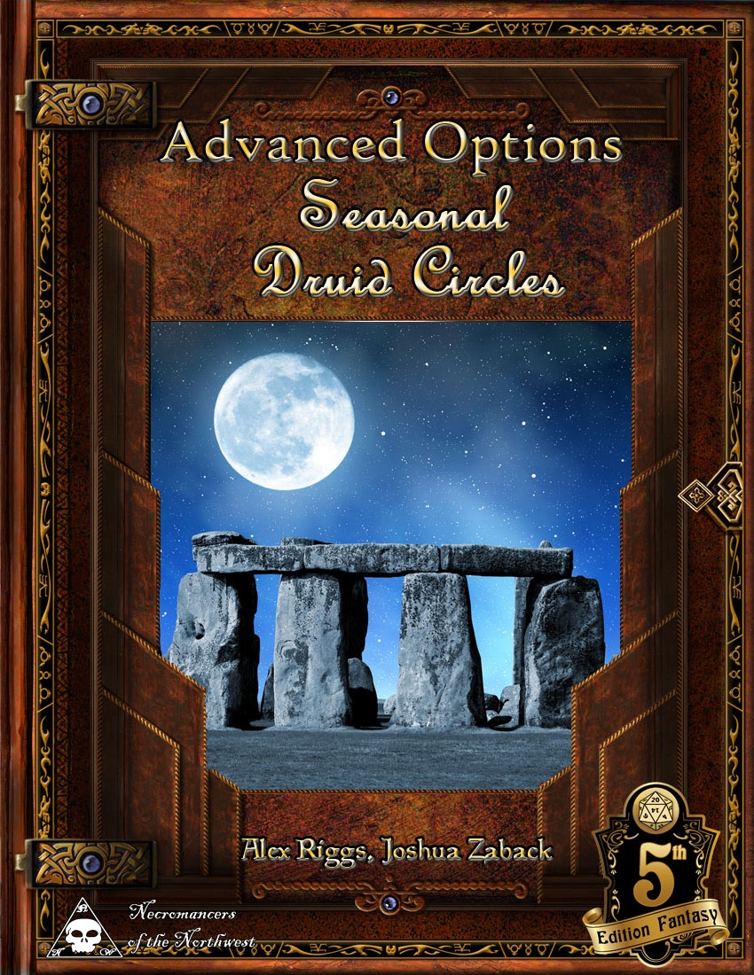paizo com - Advanced Options: Seasonal Druid Circles (5E) PDF