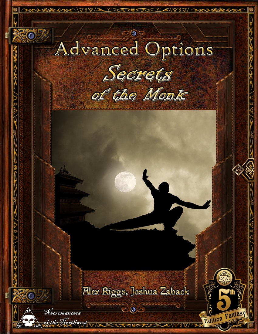 paizo com - Advanced Options: Secrets of the Monk (5E) PDF