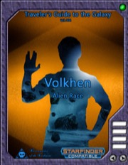 Traveler's Guide to the Galaxy 004: Volkhen Alien Race (SFRPG) PDF