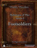 Weekly Wonder—Archetypes of War, Volume I: Footsoldiers (PFRPG) PDF