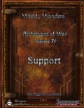 Weekly Wonders—Archetypes of War, Volume IV: Support (PFRPG) PDF