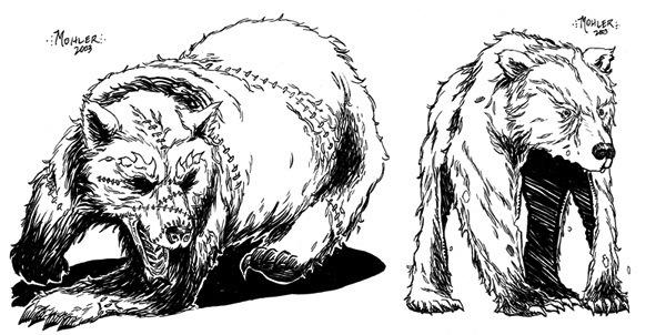 Paizocom Stock Art Zombie Bear And Bearskin Rug Guardian Pdf