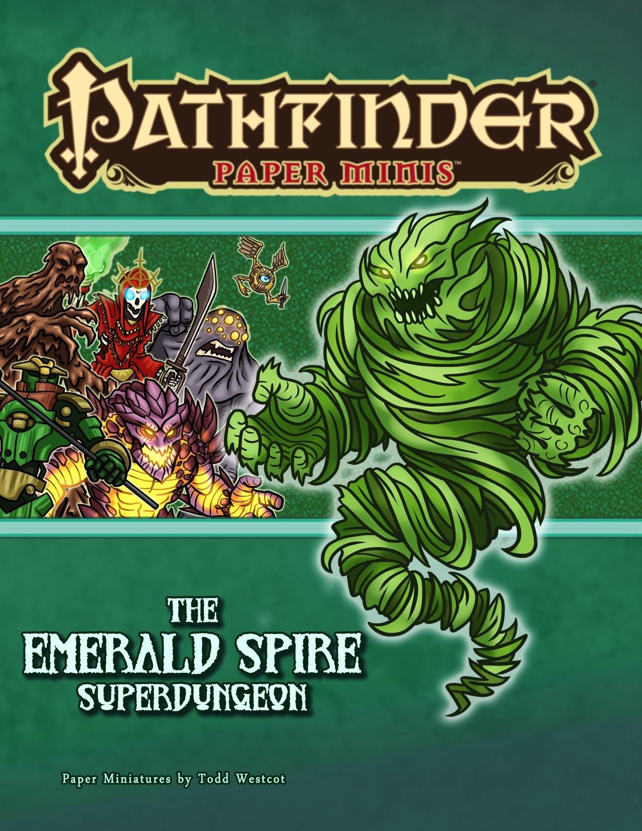 Pathfinder Paper Minis—The Emerald Spire Superdungeon PDF