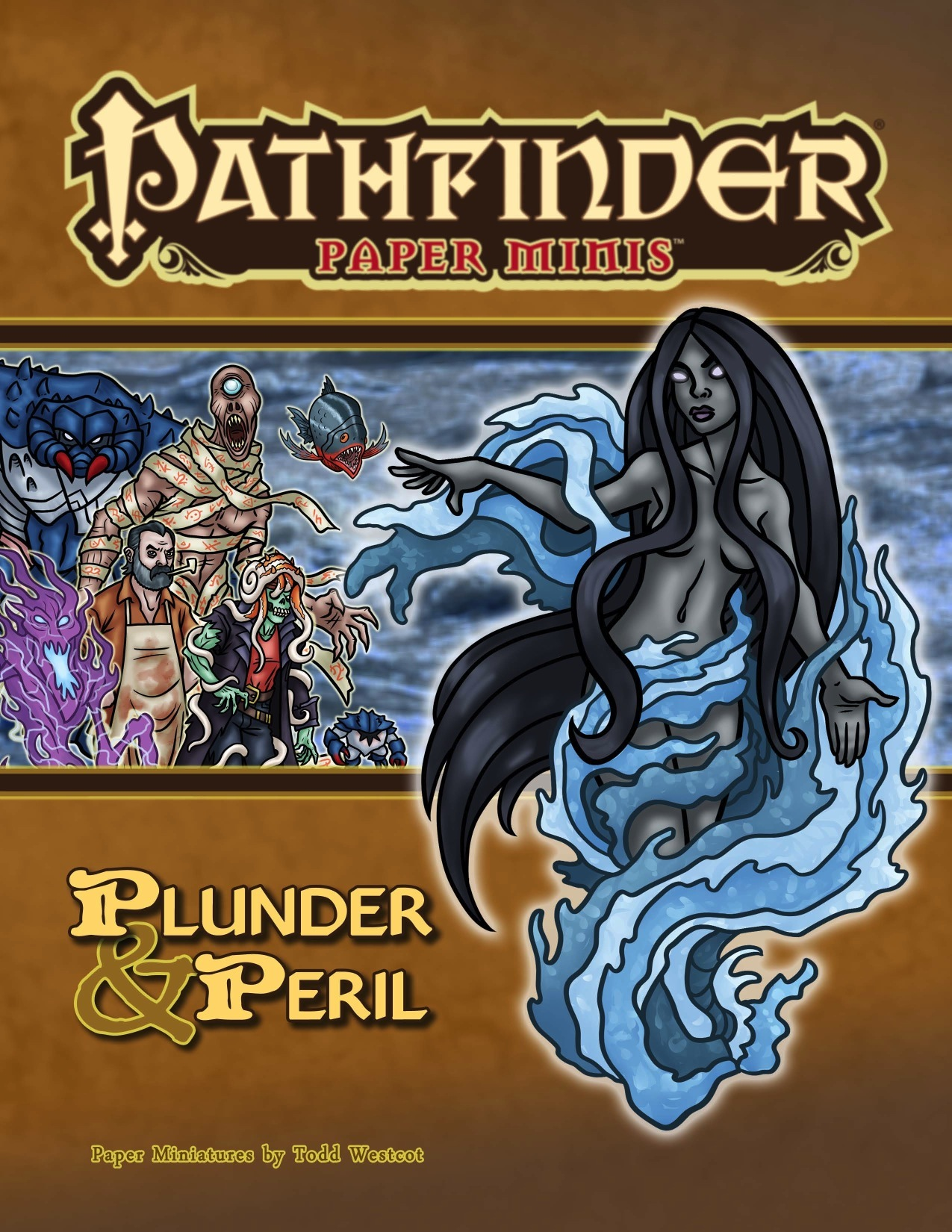 Pathfinder Paper Minis—Pathfinder Module:
