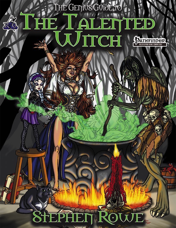 The Genius Guide to the Talented Witch (PFRPG) PDF