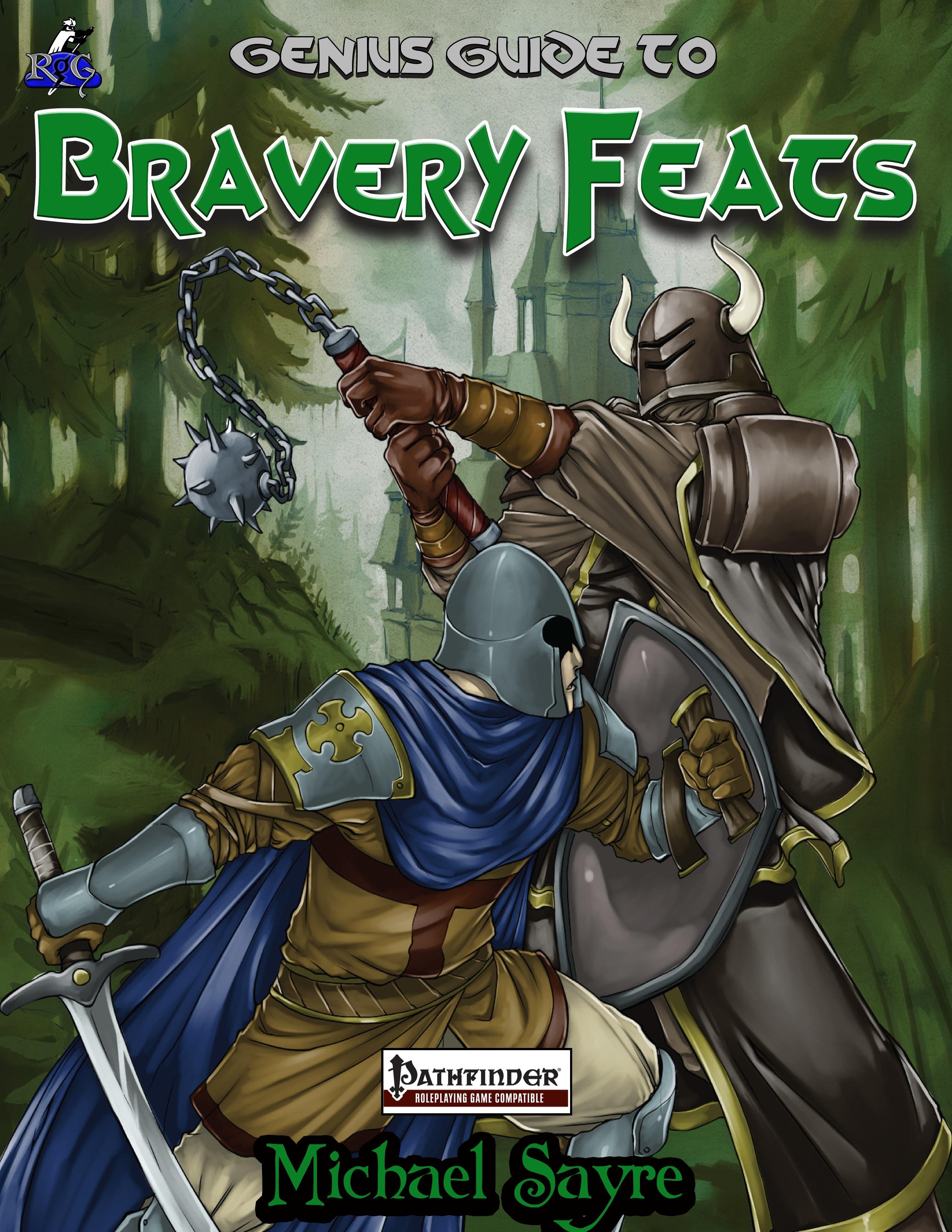 Paizo. Com the genius guide to bravery feats (pfrpg) pdf.