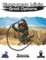 Everyman Minis: Gnoll Options (PFRPG) PDF