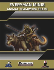 Everyman Minis: Animal Teamwork Feats (PFRPG) PDF