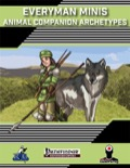 Everyman Minis: Animal Companion Archetypes (PFRPG) PDF