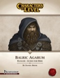 Characters-By-Level: Balric Agarum (PFRPG) PDF