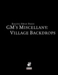 GM's Miscellany: Village Backdrops (PFRPG)