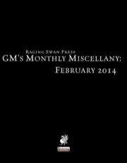 GM's Monthly Miscellany: February 2014 (PFRPG) PDF
